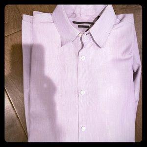 John Varvatos Slim Fit Button Shirt 16-1/2 34/35